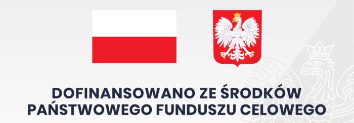 Logo -Dofinansowanie ze środków Państwowego Funduszu Celowego