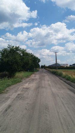Suszno - zdjęcia drogi przed budową