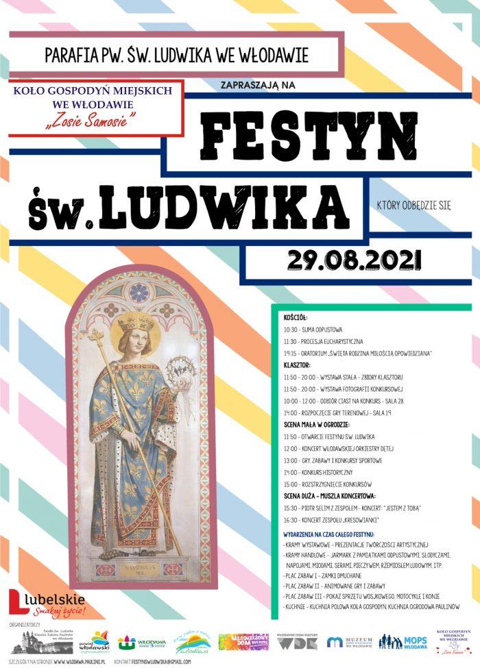 Plakat - Festyn św Ludwika