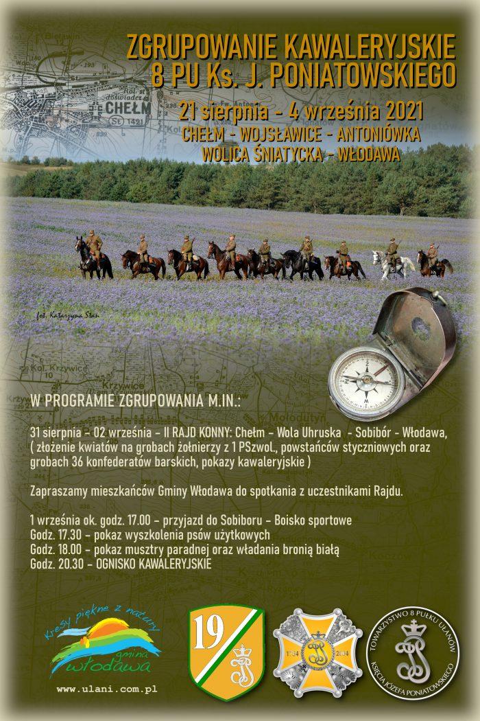 Plakat Ułani - Sobibór
