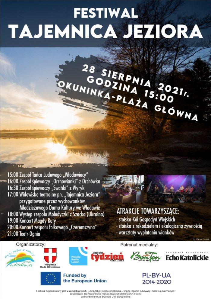 Plakat-Festiwal - Tajemnica jeziora